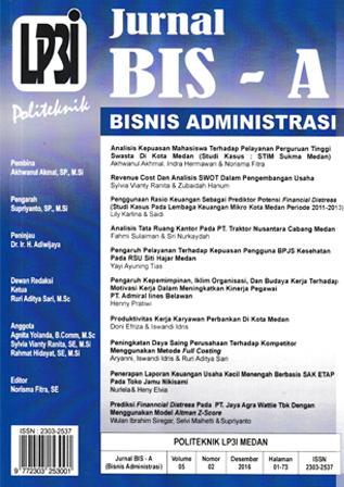 Jurnal BIS-A: Jurnal Bisnis Administrasi