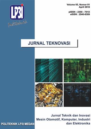 Jurnal Teknovasi: Jurnal Teknik dan Inovasi
